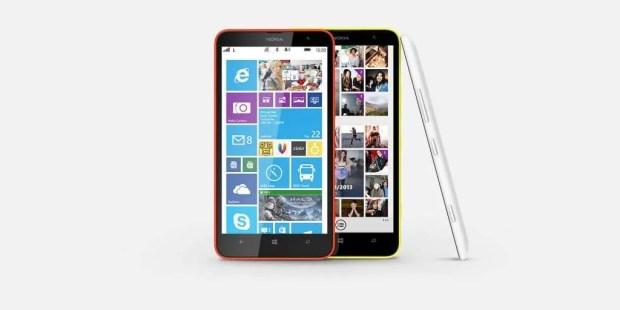 Nokia Lumia 1320 official press shot