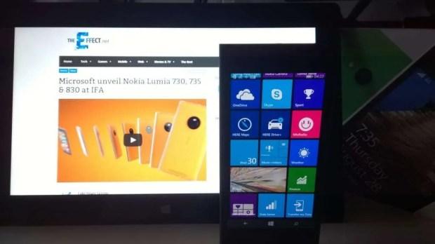 The Lumia 725