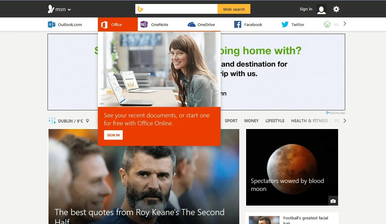 Microsoft Revamps MSN.com & Changes Bing Apps To MSN
