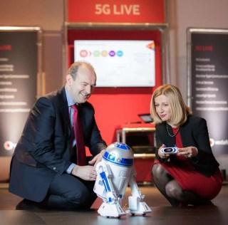 Vodafone hosts Ireland's first live 5G test