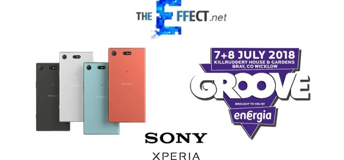 COMPETITION: Win a Sony Xperia XZ1 Compact + Weekend Passes to Groove Festival