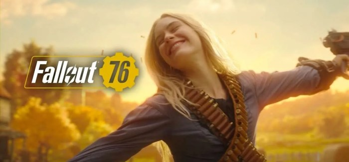 WATCH: Brand New Fallout 76 Live Action Trailer