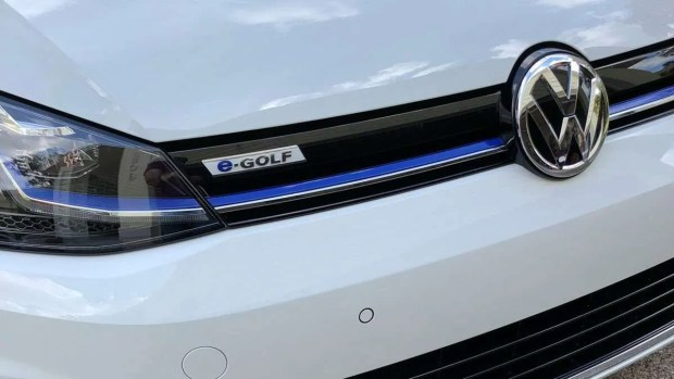 e-Golf Badge