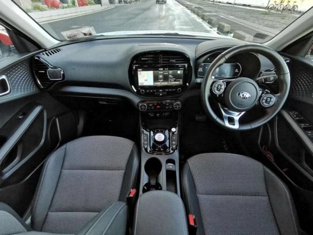 Kia e-Soul front interior and dash