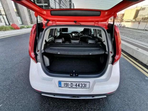 Kia e-Soul rear open
