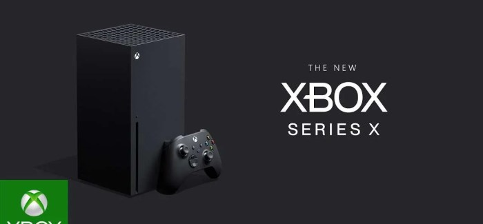 Microsoft reveal next gen 'Xbox Series X' – Arriving Christmas 2020