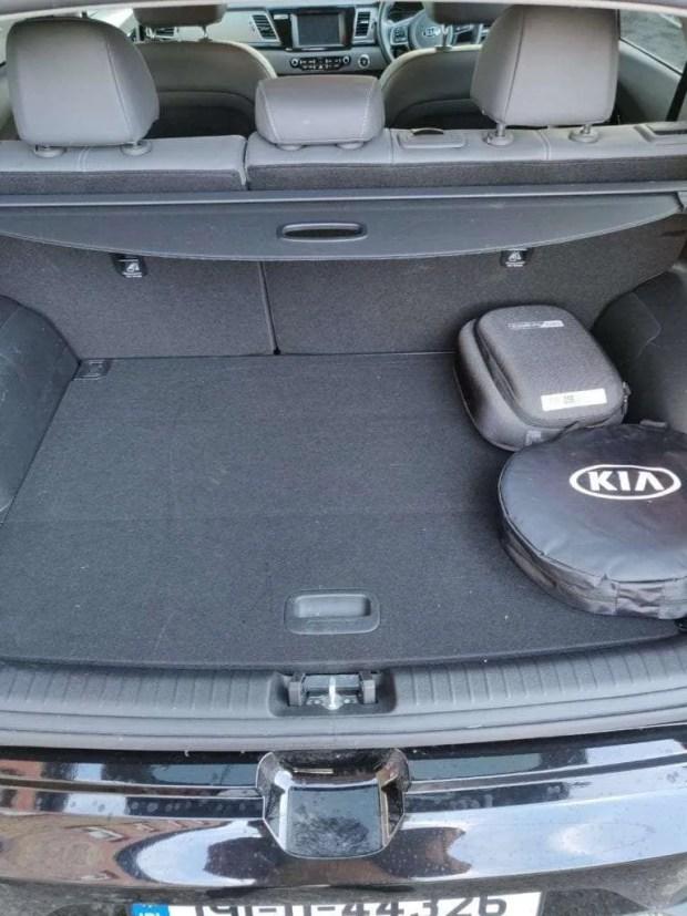 Kia e-Niro 451 Litre Boot