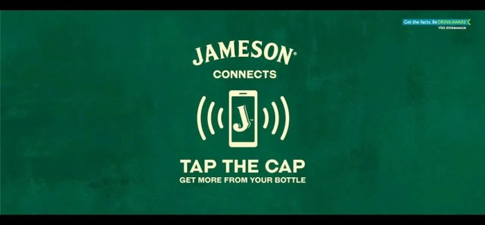 Jameson launches 1.5 million 'digitally connected' bottles in Ireland