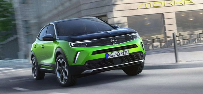 All-new Mokka is electrified and sports future Opel brand identity