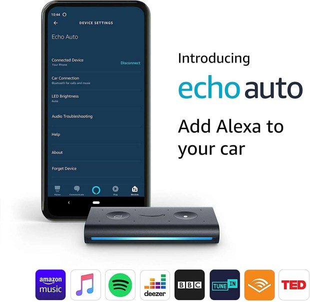 Alexa App and Echo Auto Image