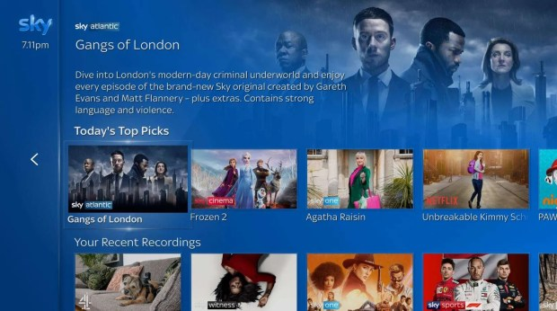 Sky Q Expanded View