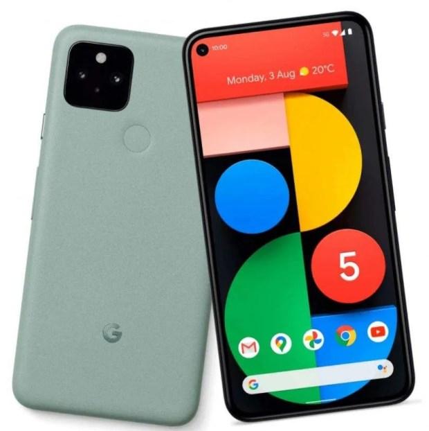 Google Pixel 5 Sage Colour
