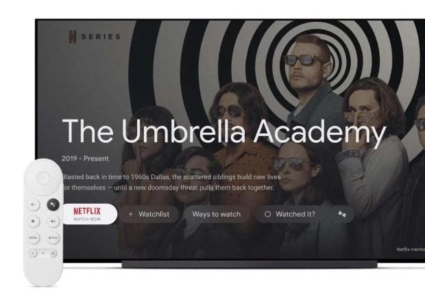 Google TV on new Chromecast