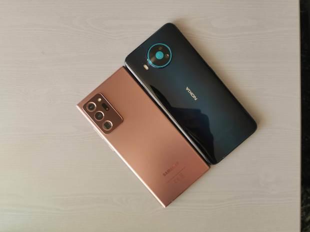 Nokia 8.3 5G vs Note20 Ultra