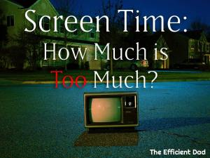Screen Time: How Much is Too Much?