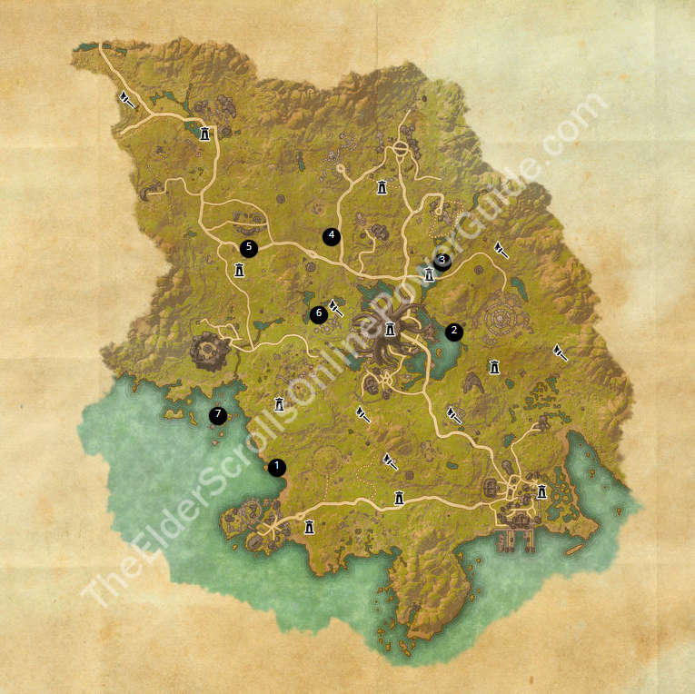 Coldharbour Ce Treasure Map 6