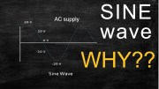 Why AC supply is always represented by a SINE wave? Explained