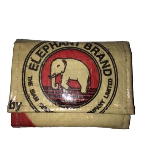 Elephant Brand Deluxe Unisex 3 fold Wallet Small Logo 1
