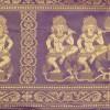 Apsara Dancer Bold Purple Detail