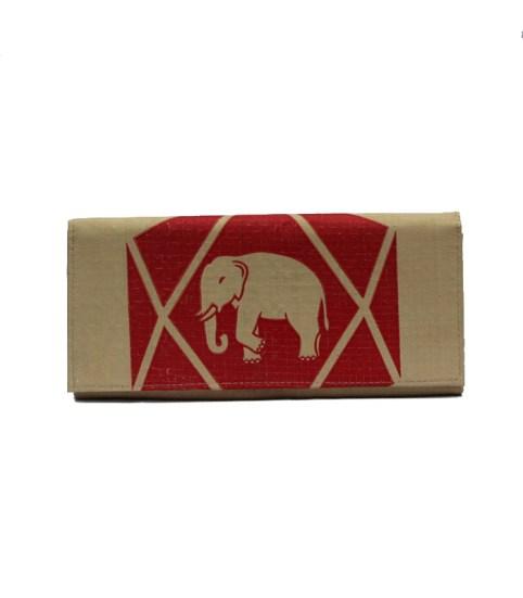 _0006_Elephant Brand Ladies Diamond Long Wallet Raw (1)