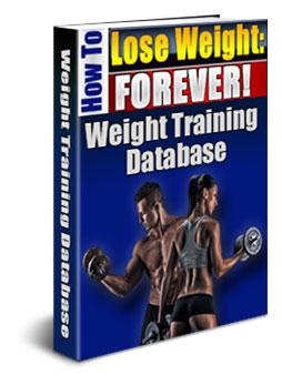 weight training database