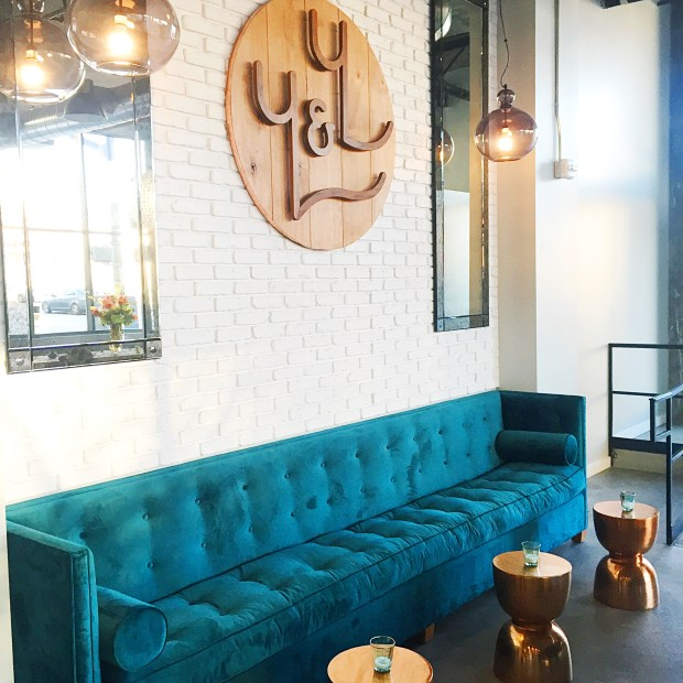 You & Yours Distilling Co. lounge