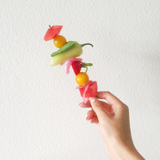 Skewer for Watermelon Bloody Mary