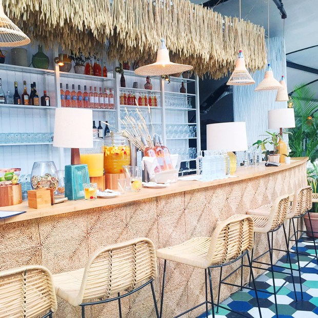 Boho Tropical Paris Inspiration at Polpo Brasserie
