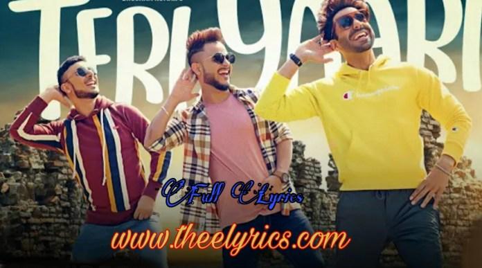 Teri Yaari lyrics - (Millind Gaba)   तेरी यारी लिरिक्स Aparshakti Khurana