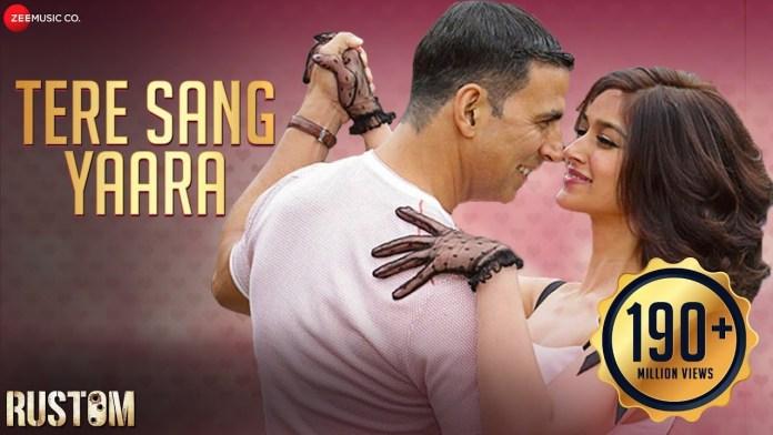 Tere Sang Yaara Lyrics in Hindi