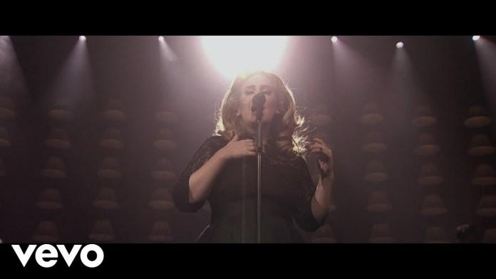 Adele Set Fire to The Rain Lyrics