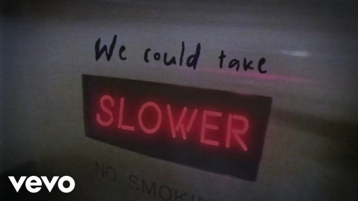 Slower Tate Mcrae Lyrics