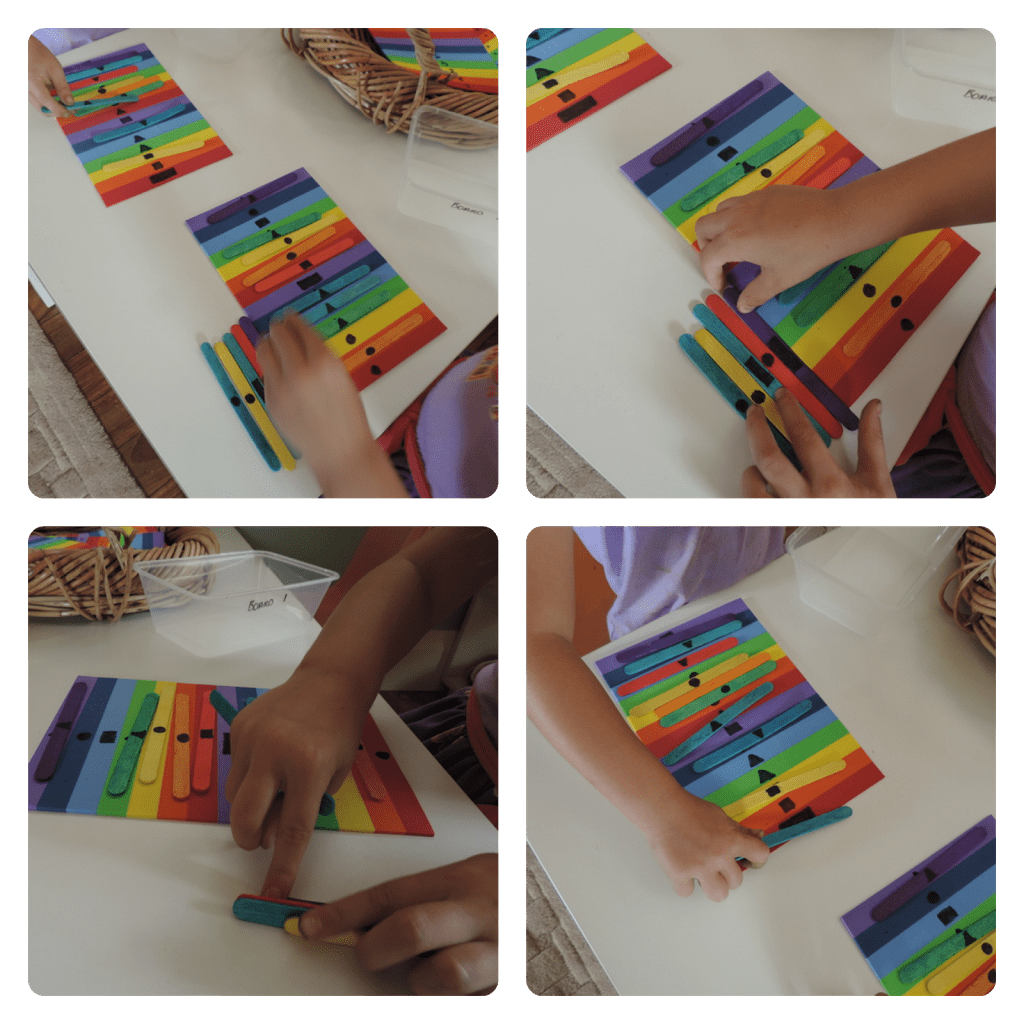 Rainbow Colour Amp Number Sort And Sequence Game