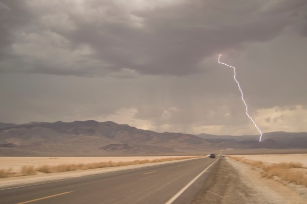 Death Valley Lightning
