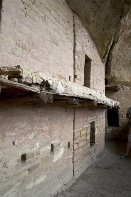 An example of the Anasazi's building skills.