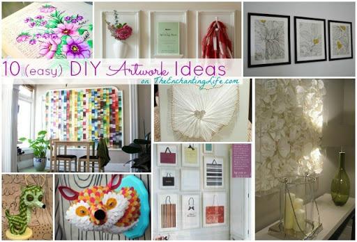 10 easy DIY Artwork Ideas (No Art Degree Required)