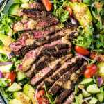 Best Steak Salad With Creamy Balsamic Vinaigrette The Endless Meal