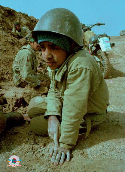 iran's child soldiers