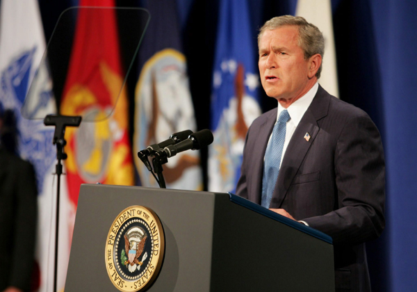 president bush and the war on terrorism