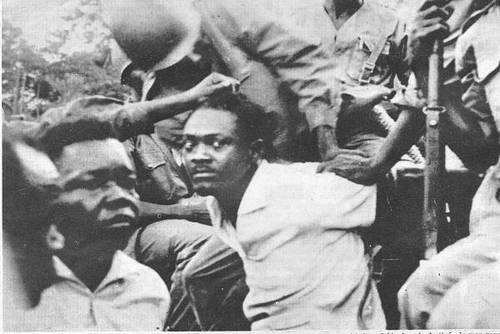 arrest of lumumba