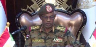 Defense Minister Awad Ibn Auf