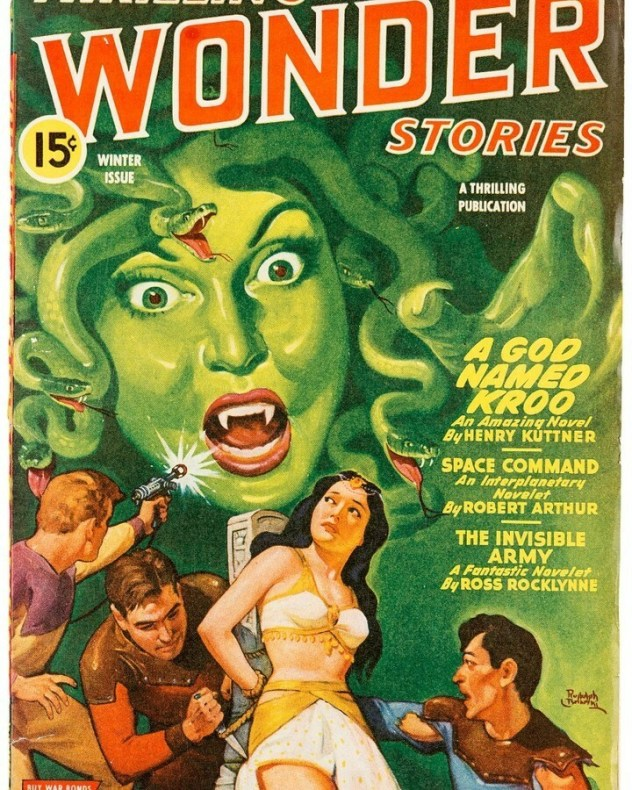 Thrilling Wonder Tales cover