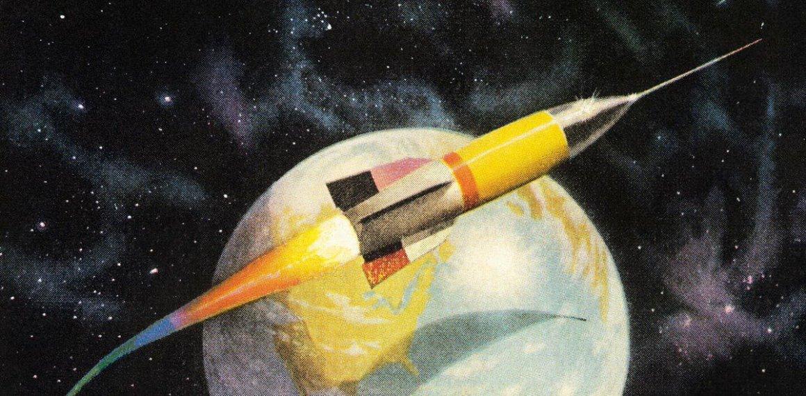 nuclear 1950s rocket