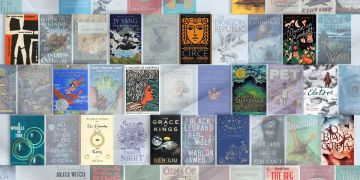 top 100 fantasy books collage