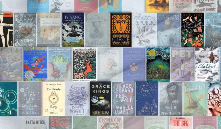 This list from @TIME claims to list the 100 best #fantasy #books of all time. Interestingly, nearly half of them were published in the last 10 years. https://t.co/HjAaE7O2ED