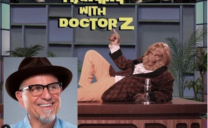 Hanging with Doctor Z is the Planet of the Apes-Johnny Carson love child that you didn't know you needed.