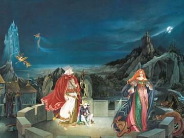 Chronicles of Amber fantasy art