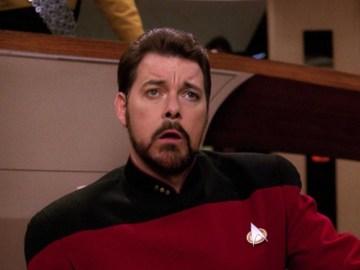 Commander Riker from Star Trek