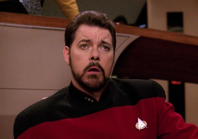 It's time for Riker's performance review
