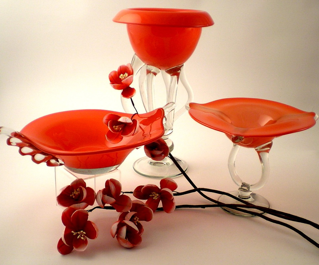 Decorative Glass Vases And Bowls Home Design Ideas